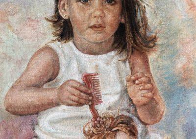 Victoria, hija pequeña de Don Alfredo Ortuño