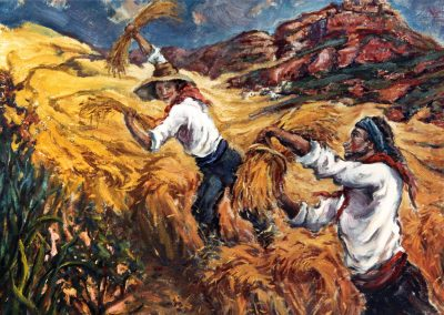 Alegría de la buena cosecha