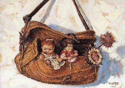 Anson con muñecas