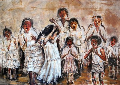Baile juvenil gitano
