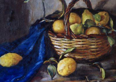 Bodegon con limones