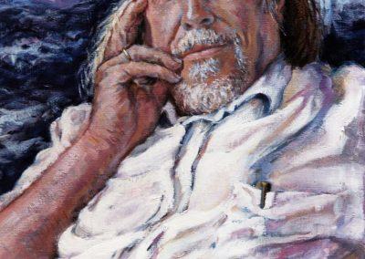 El escritor Jose Luis castilllo Puche