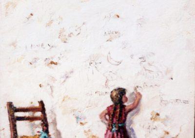 Garabateando en la pared de los recuerdos