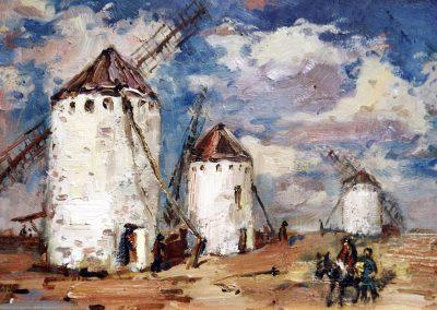Molinos enemigos de Don Quijote de la Mancha