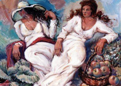 Mujeres en blanco