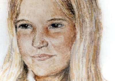 Natalia una de las hijas del señor Flaquer
