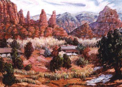 Paisaje de Sedona en Arizona