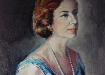 Retrato de Josefina, esposa de juan Rico lópez