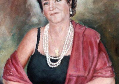 Señora lola, esposa de Antonio Mesa