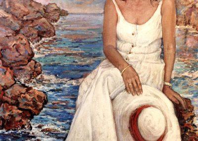 Señora María Díaz_directora de la galería Opus 2000 de Miami