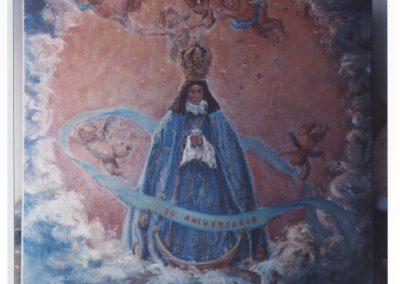Homenaje a muestra patrona Virgen del Castillo