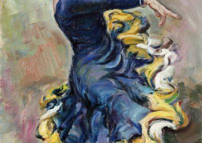 Josefina bailando